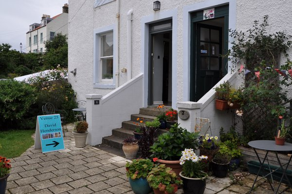 A welcoming Pittenweem Art Gallery
