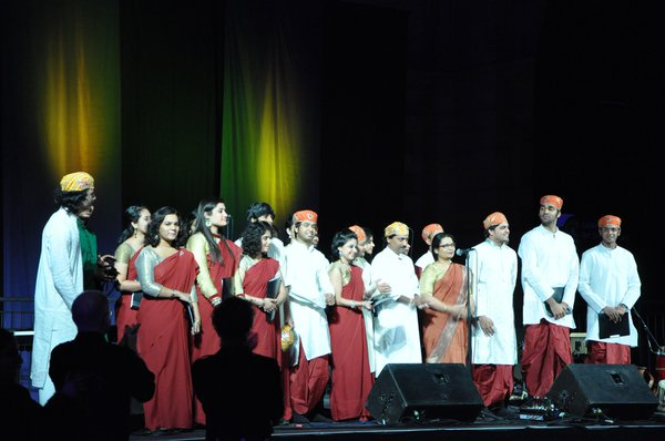 A standing ovation for the Hindustani choir at Celtic Connections