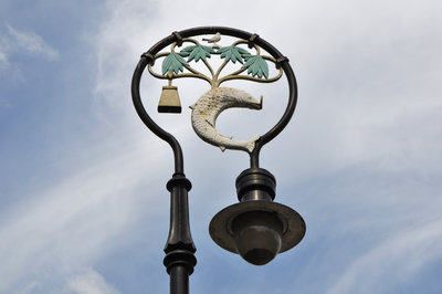 A Lamp in Cathedral Precinct
