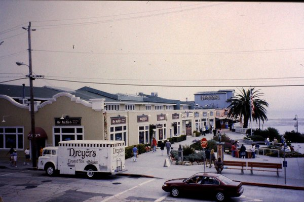 A modern Monterey shopping centre now named Steinbeck Plaza replaces an area that was known to the writer John Steinbeck as Cannery Row.