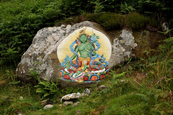 Walkers on Holy Isle will notice a number of painted rocks just off the coastal path.