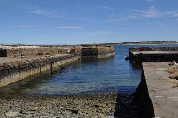 From this small harbour, Caithness flagstones were shipped all over the world