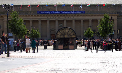 A variety of events are held in the Caird Hall