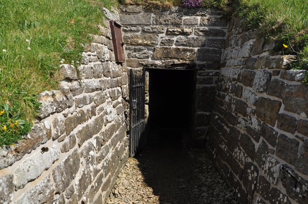 Entrance tunnel to Maes Howe