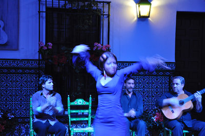 Flamenco dancer - Seville