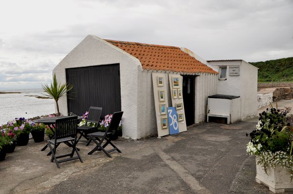 Garage Gallery on the seafront