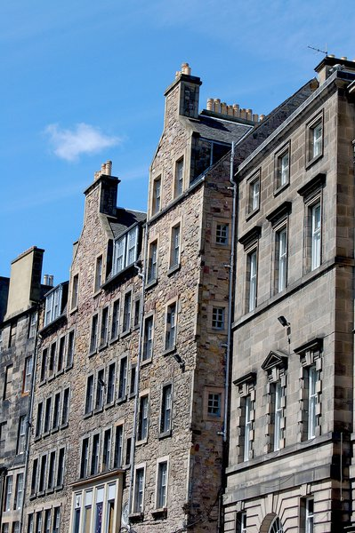 All classes of Edinburgh folk lived in these tenements