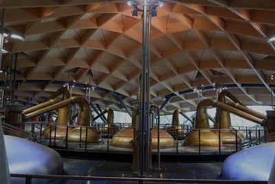 Inside the Macallan Distillery