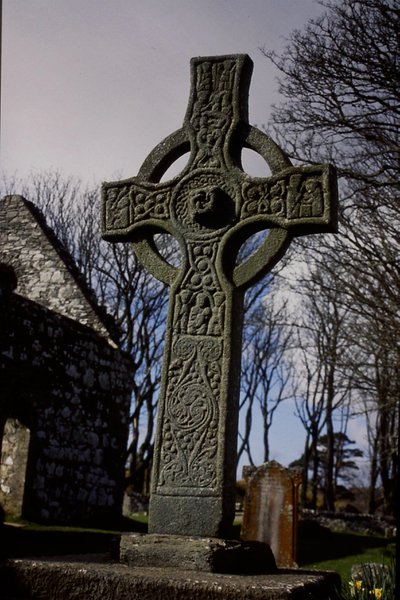 Kildalton Cross may have been used as a visual aid by a preacher