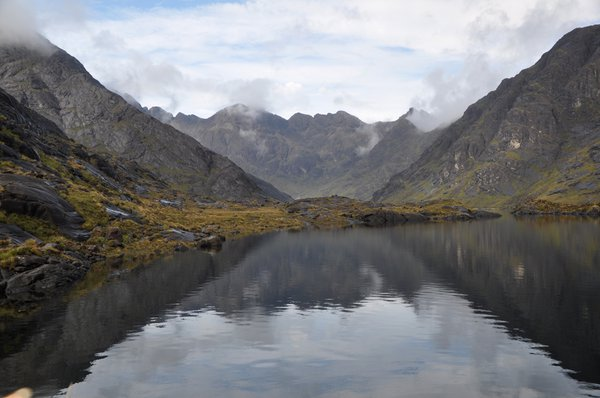 Loch Coruisk is surrounded by the Cuilins of Skye