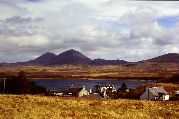Looking over Port Askaig to the Island of Jura