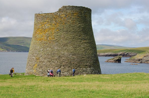 Mousa Broch is the biggest and best preserved in the world