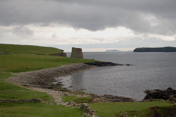 Mousa Broch on the Isle of Mousa, Shetland