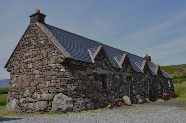 Museum at Ellishadder, Staffin, Isle of Skye, has dinosaur fossils found locally
