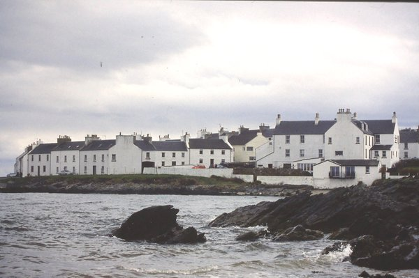 Port Charlotte is arguably the prettiest of Isle of Islay villages.
