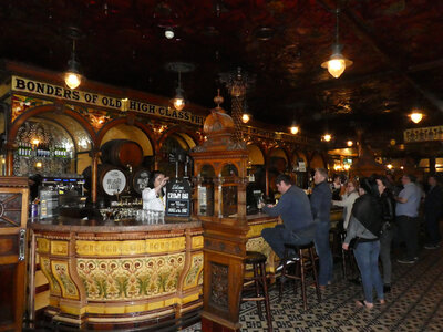 The Crown Bar has hardly changed since Victorian times