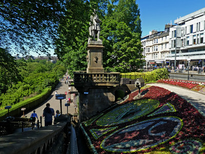 The Floral Clock is a popular visitor attraction