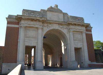 The Menin Gate is a memorial to the Missing in War