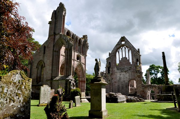 Dryburgh Abbey was chosen by Sir Walter Scott for his last resting place