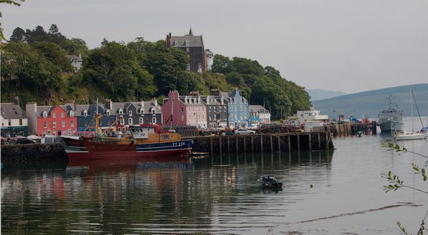 Tobermory-Capital of the Isle of Mull