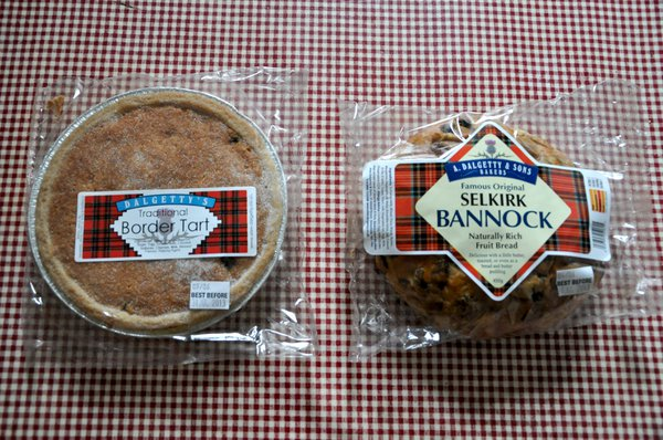 Selkirk bannock made locally
